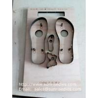 Buy cheap Flip flops slipper steel rule dies China supplier, flip-flops sole steel cutting dies from wholesalers