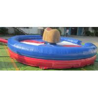 Wholesale Giant Inflatable Mechanical Bull With Mattress Interactive Game from china suppliers