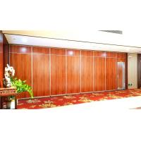 Wholesale Acoustic Folding Office Partition Walls , Movable Decorative Room Divider Aluminium Track from china suppliers
