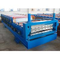Wholesale Corrugated Steel Double Layer Roll Forming Machine For Roof Panal from china suppliers