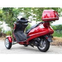 Quality 50CC Horizontal Type Tri Wheel Motorcycle With Single Cylinder , Belt Drive Transmission for sale