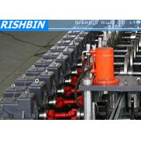 Buy cheap 15KW 50Hz 3 Phases Steel Frame Roll Forming Machine with 20 - 25 Steps for Door from wholesalers