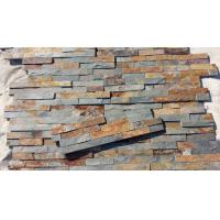 Wholesale China Rusty Slate Ledgestone Multicolor Slate Stone Panel Natural Stone Veneer for Fireplace from china suppliers