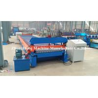 Wholesale HIgh power Customized Roofing Panel Corrugated Roll Forming Machine 380V 50Hz 3 Phases from china suppliers