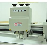 Quality Paper Box Flatbed digital cutter servo motor vacuum pump oscillating knife for sale
