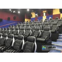 Wholesale Motion Ride 5D Movie Theater Simulator System With Black Motion Seat With 50 People from china suppliers