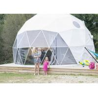 Wholesale European Style Geodesic Dome Tent Waterproof Canopy UV - resistant Long Lifespan from china suppliers