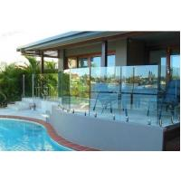 Wholesale Frameless No Holes Pool Fencing Glass Panel Heat Soaked Toughened from china suppliers