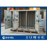 Wholesale Three Compartments Outdoor Street Cabinets Telecoms For Base Station / 4G System from china suppliers