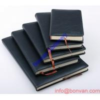 Wholesale OEM business loose leaf leather journal diary notebook from china suppliers