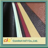 Wholesale Non - Fading Embossed PVC Artificial Leather Material / For ArmChair , CE REACH Approval from china suppliers