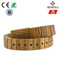 Wholesale Pro - enviroment Handmade Wood Accessories Zebra Wood Belt 1 Year Warranty from china suppliers