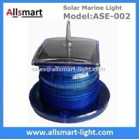 Wholesale 15 LED Blue Flash Solar Marine Aquaculture Lights With Spike Drive Bird Needle Sea Ship Signal Solar Buoy Security Lamp from china suppliers