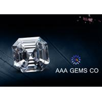 Wholesale ODM Supper White Synthetic Moissanite Asscher Cutting Shape 5mm from china suppliers