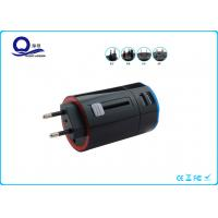 Wholesale Dual USB Port Rotary Smart USB Adapter Charger Universal Use 5V 2400mA Output from china suppliers