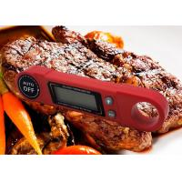 China Automatic Rotation Screen Backlight Display Talking Bbq Meat Thermometer Super Fast Read on sale