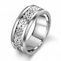 Wholesale New Super Fashion Tagor Jewelry Factory Ceramic Tungsten Series Ring TYWR009 from china suppliers