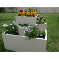 Buy cheap garden planting potmetal planter/galvanized steel garden bed/Metal/Tin/Box/Square/Flower P from wholesalers