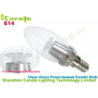 Wholesale Pure White 360 Degree 3w E14 Dimmable Led Candle Bulb For Home Lighting from china suppliers