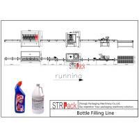Wholesale Automatic Bottle Filling Line 2000-5000 BPH Capacity For Toilet Cleaner Liquid from china suppliers