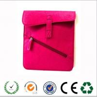 Wholesale Custom purple green yellow felt laptop bag with front zipper pockets from china suppliers