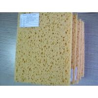 Wholesale Car Cleaning compressed cellulose sponge Unevenly Wood pulp fibers from china suppliers