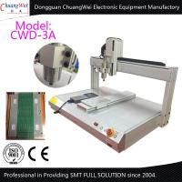 Wholesale White 0.5KW Manual Desktop PCB Router Machine with Air Cooled Spindle from china suppliers