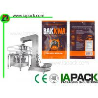 Wholesale Rotary Automatic Beef Jerky Ziplock Filling Sealing Packing Machine from china suppliers