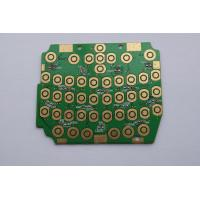Wholesale Custom Flash Gold Green Prototype PCB Boards Fabrication , Copper Clad PCB Board from china suppliers