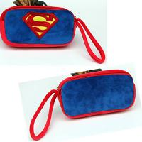 Wholesale Blue Lovely Cartoon SuperMan Plush Pencil Case for Kids , Children from china suppliers