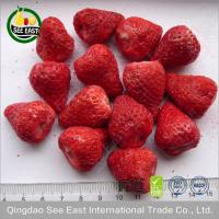 Buy cheap Freeze Dried Strawberry Whole for chocolate/ dried strawberries/Strawberry Crunch from wholesalers