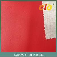 Wholesale SGS Sofa synthetic leather  with Strong T/C Knitting Backing from china suppliers