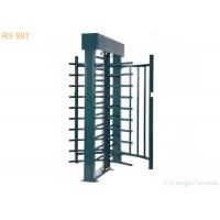 Wholesale Bi-directional Full Height Turnstiles Single Double Channel Turnstile Gate from china suppliers