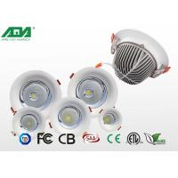 Wholesale Aluminum round external led downlights , 3W 4W 7W 12W recessed adjustable led downlight from china suppliers