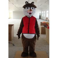Wholesale Kid animal squirrel chipmunk mascot costumes with high-tech heads from china suppliers