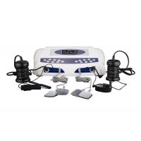 Two LCD display detox foot spa , detox machine for feet with optional massage slipper