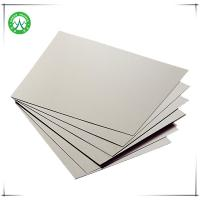 Quality 1050g grey board paper gray grey paperboard grey paper board of sheet paper for sale