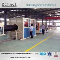 Wholesale Factory Price ISO4427 DN630 PN10 large diameter HDPE pipe for water supply project from china suppliers