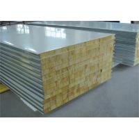 Wholesale Fire Proof Rock Wool Galvanised Steel Roofing Sheets Environment Friendly from china suppliers