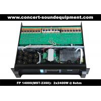 Wholesale FP 14000 2 x 2400W Concert Sound Equipment , 2 Channel High Stability Switching Amplifier from china suppliers