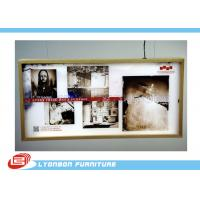 Wholesale High End MDF Light Box / Wooden Display Accessory For Shopping mall from china suppliers
