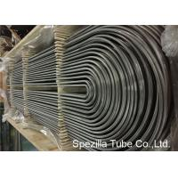 Wholesale ASME SA213 U Bend Pipe for Heat Exchanger , TP304 Seamless Stainless Steel Tubing from china suppliers