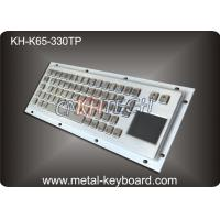 Wholesale Rugged Industrial Keyboard with Touchpad , Stainless Steel Material from china suppliers