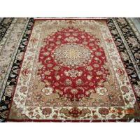 China Persian silk rug on sale