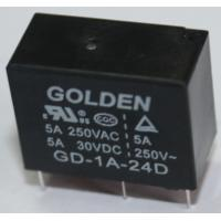 Wholesale Subminiature PCB Power Relay , Rohs Approval Golden Relay 12 Volt from china suppliers