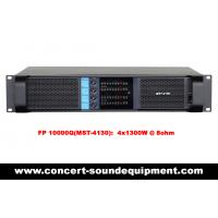 Wholesale Disco Sound Equipment / FP 10000Q Switch Mode 4 Channel 4x1300W Amplifier from china suppliers