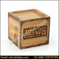 Wholesale Hudson Single Malt Whiskey Wooden Bottle Glorifiers from china suppliers