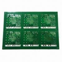 Buy cheap 4 Layers PCB for Power Supply, with 3oz Copper, Blue Solder Mask and 1.55mm Board Thickness from wholesalers