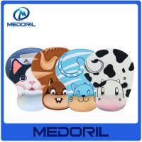 Wholesale Colorful Nice Comfortable Silicone material gaming Mouse Pads with wrist rest from china suppliers