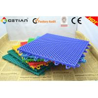 Wholesale Suspended Portable Badminton Court Flooring , Interlocking Sports Floor Mat from china suppliers